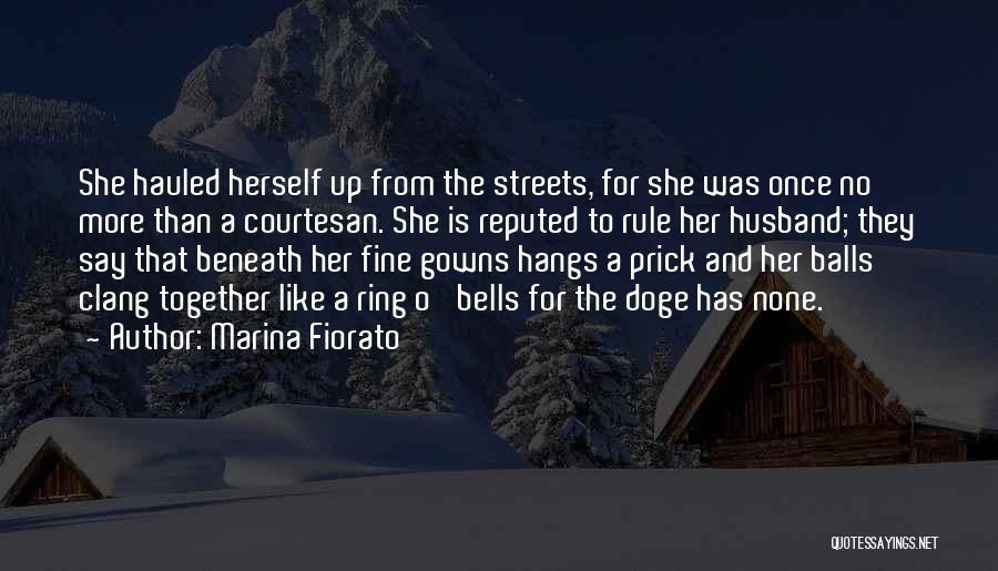 Best Courtesan Quotes By Marina Fiorato