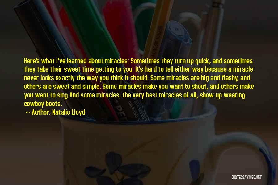 Best Cowboy Way Quotes By Natalie Lloyd