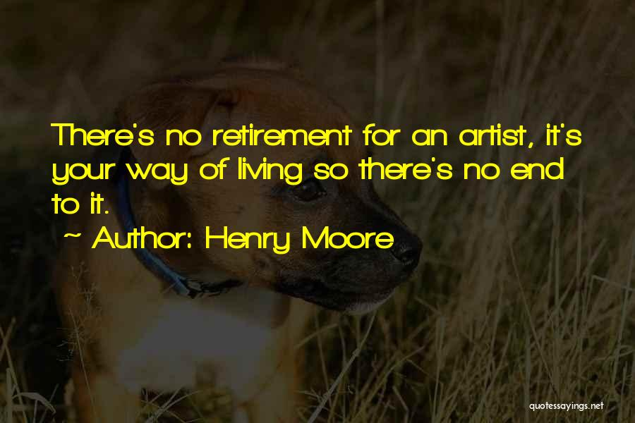 Best Creative Art Quotes By Henry Moore