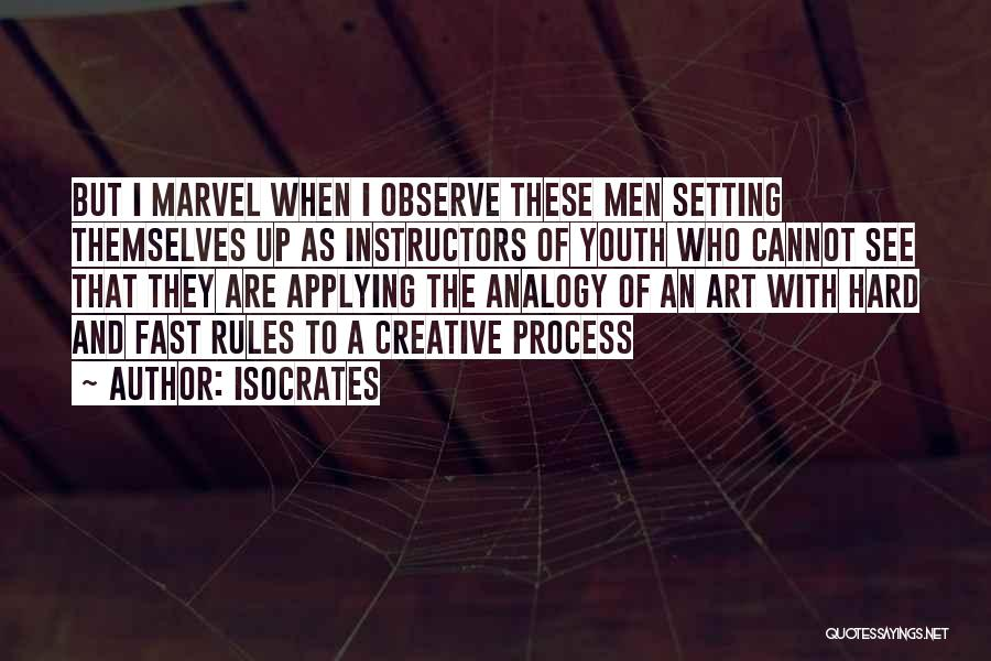 Best Creative Art Quotes By Isocrates
