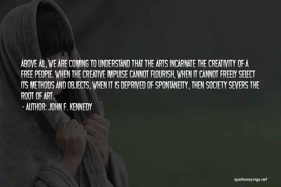 Best Creative Art Quotes By John F. Kennedy