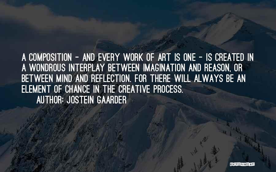 Best Creative Art Quotes By Jostein Gaarder
