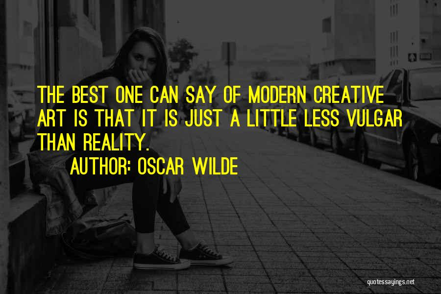 Best Creative Art Quotes By Oscar Wilde