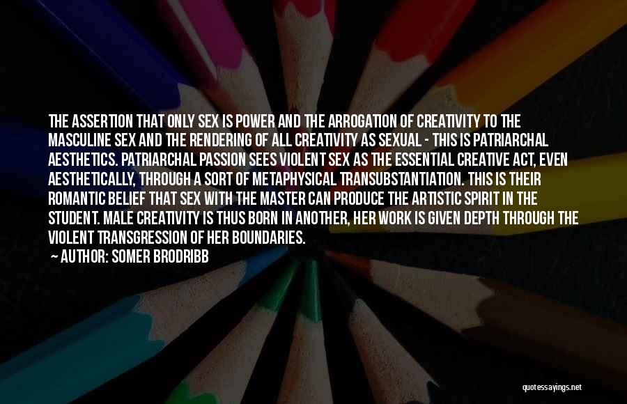Best Creative Art Quotes By Somer Brodribb