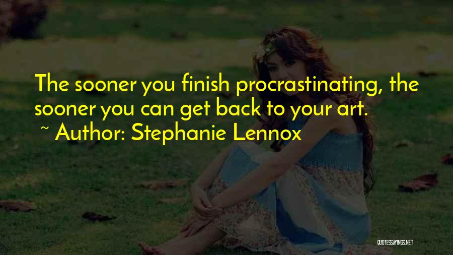 Best Creative Art Quotes By Stephanie Lennox
