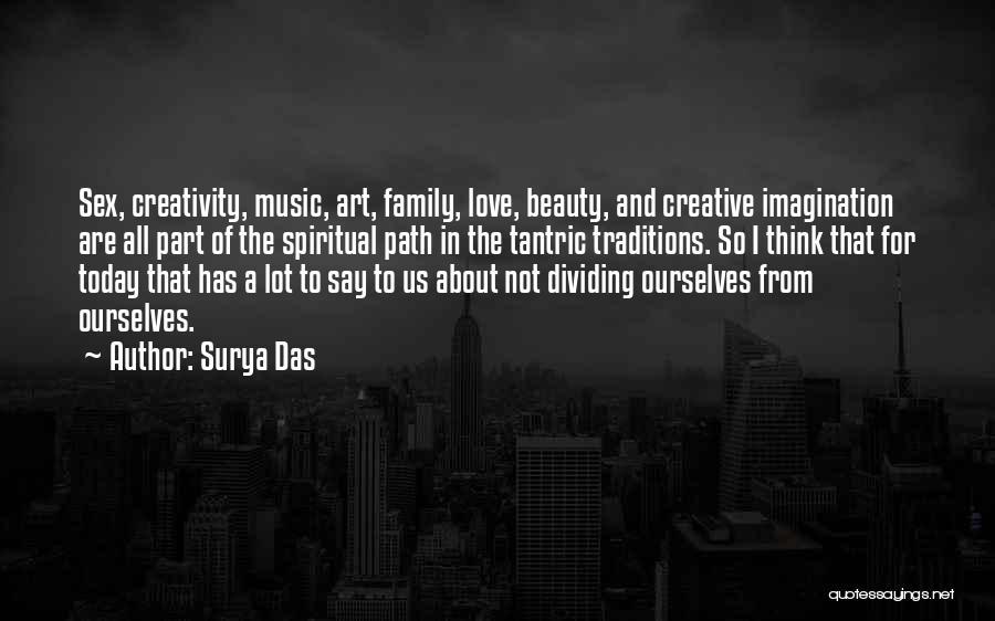 Best Creative Art Quotes By Surya Das