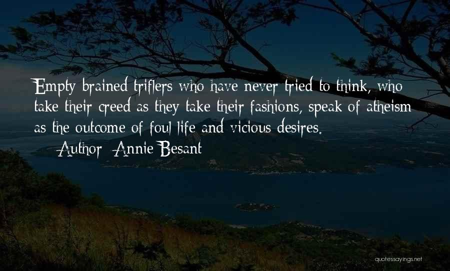 Best Creed Quotes By Annie Besant