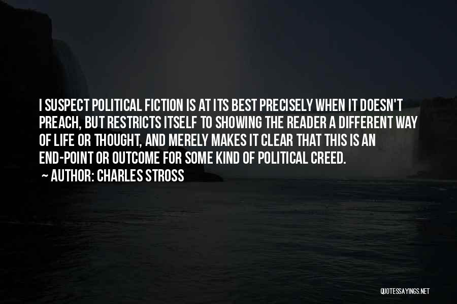 Best Creed Quotes By Charles Stross