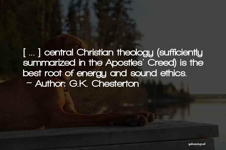 Best Creed Quotes By G.K. Chesterton