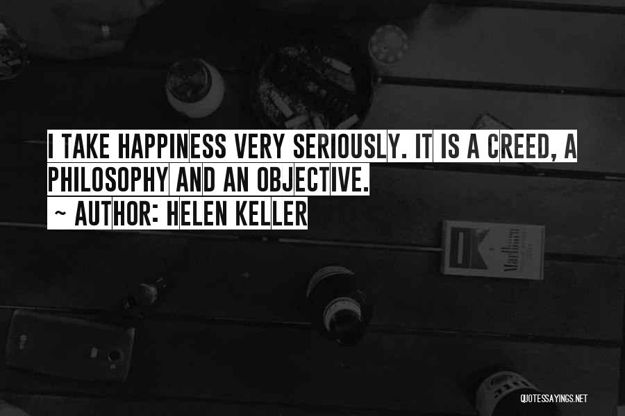 Best Creed Quotes By Helen Keller