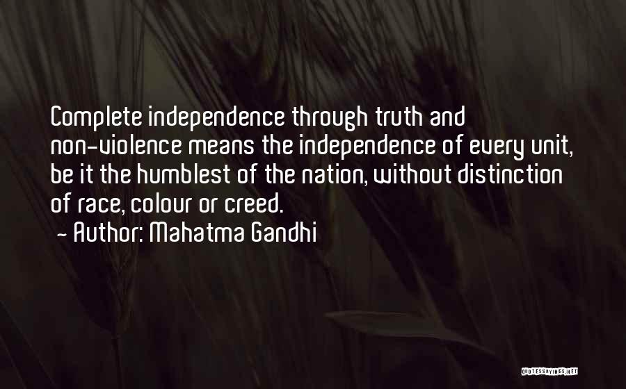 Best Creed Quotes By Mahatma Gandhi