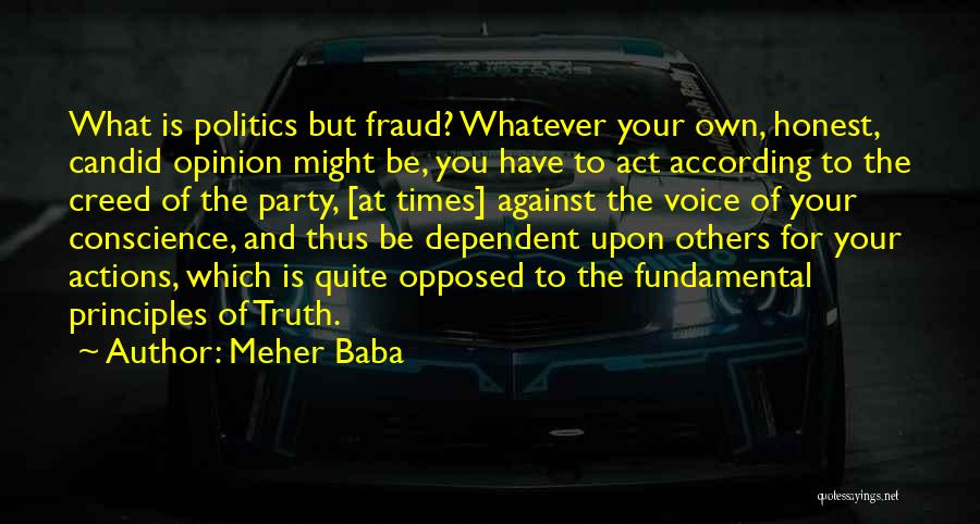 Best Creed Quotes By Meher Baba