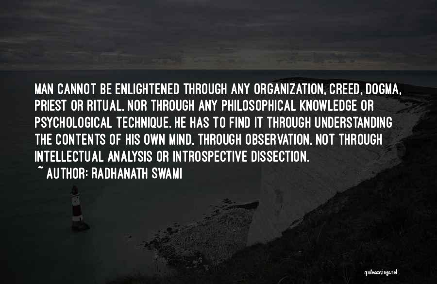 Best Creed Quotes By Radhanath Swami