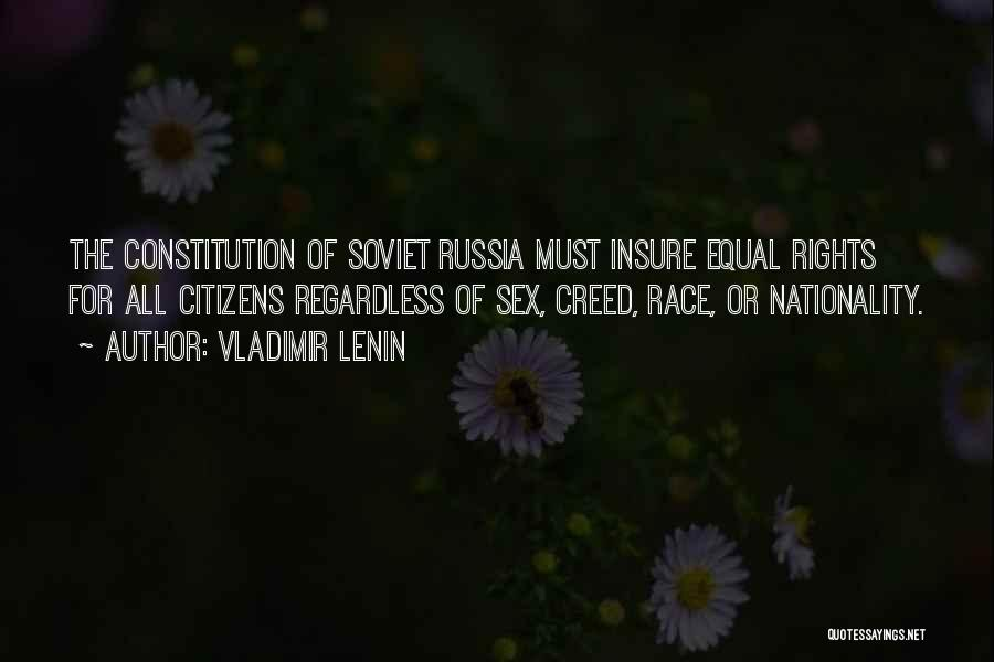 Best Creed Quotes By Vladimir Lenin