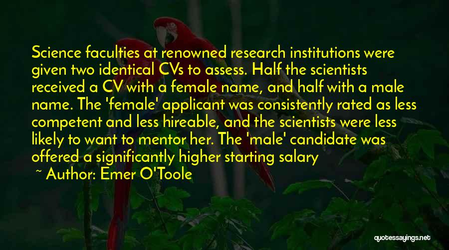 Best Cv Quotes By Emer O'Toole