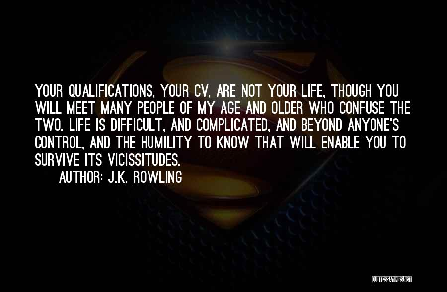 Best Cv Quotes By J.K. Rowling