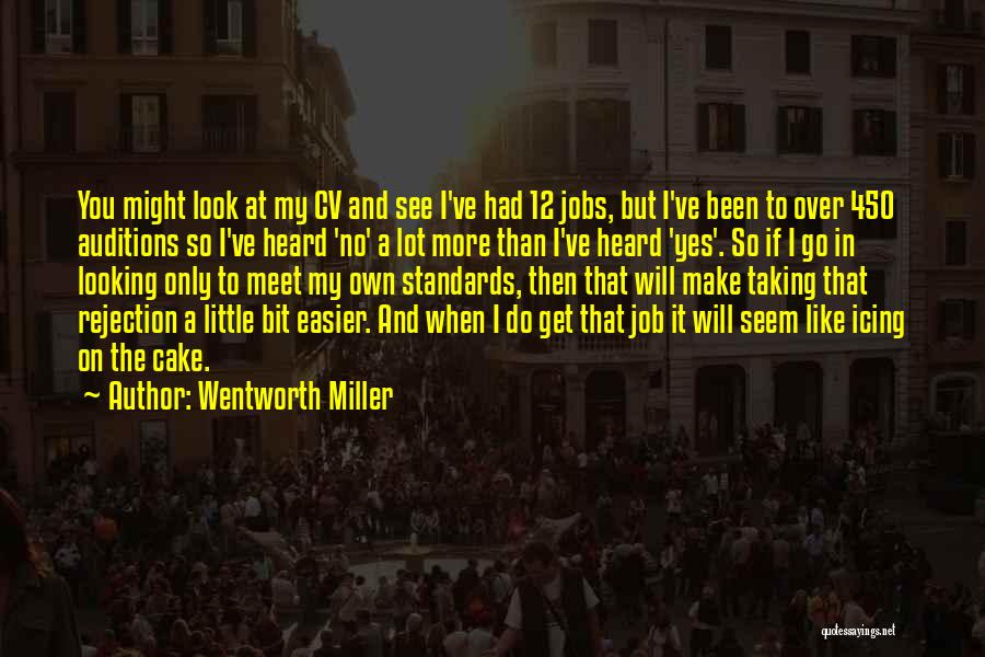 Best Cv Quotes By Wentworth Miller