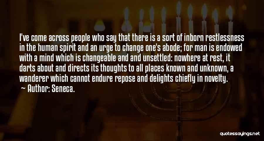 Best Darts Quotes By Seneca.