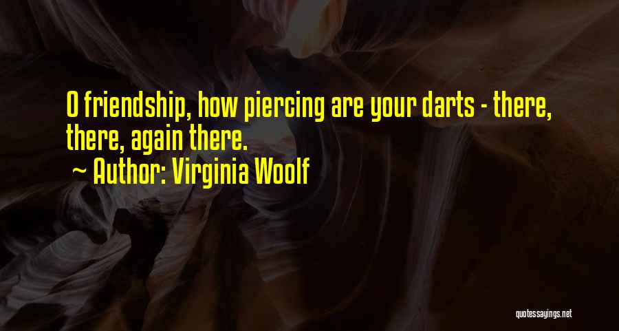 Best Darts Quotes By Virginia Woolf