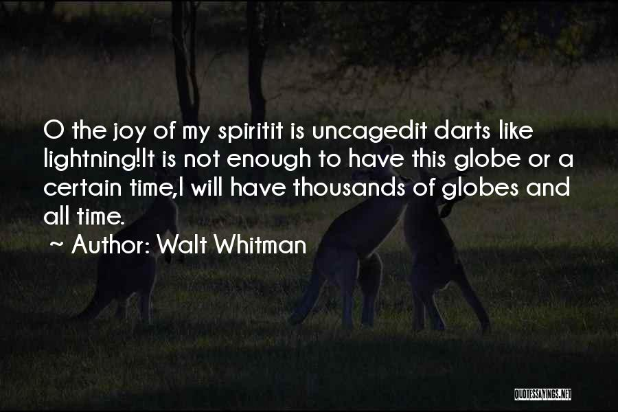 Best Darts Quotes By Walt Whitman