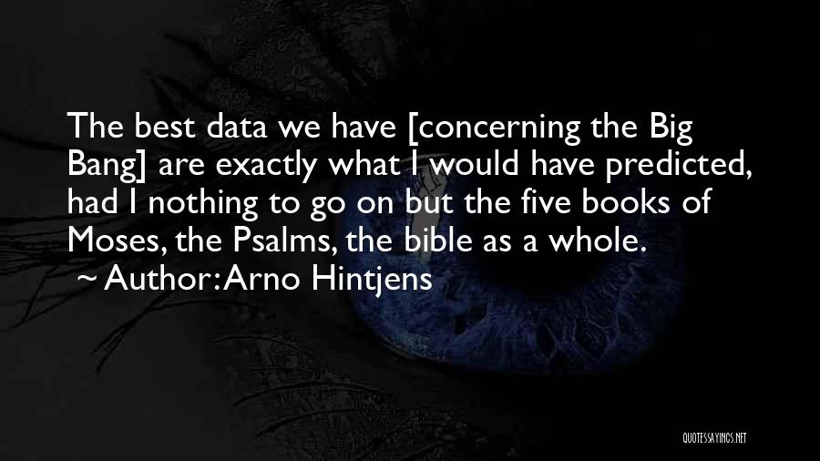 Best Data Quotes By Arno Hintjens