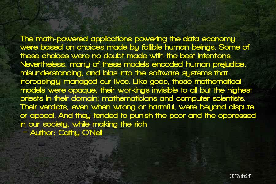 Best Data Quotes By Cathy O'Neil