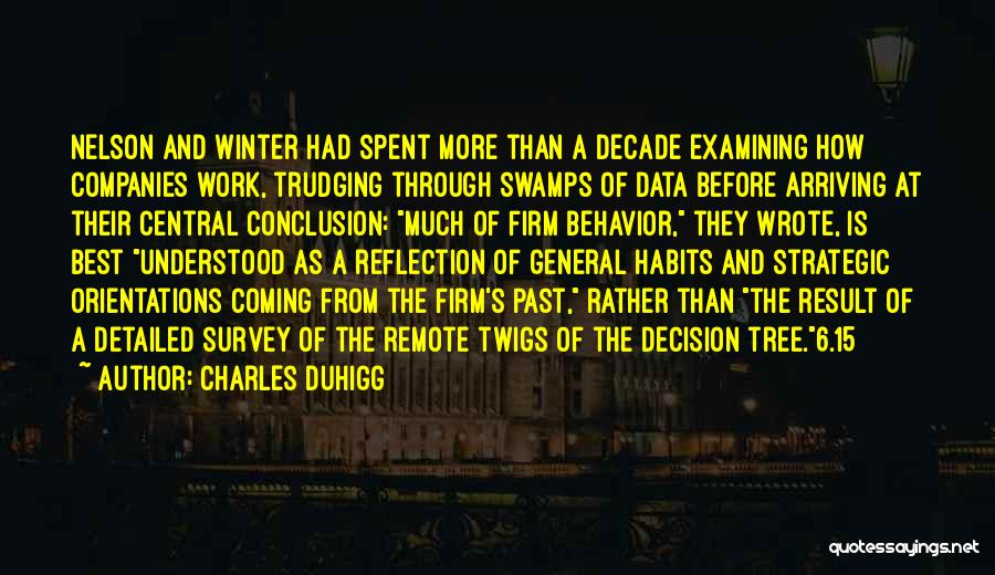 Best Data Quotes By Charles Duhigg