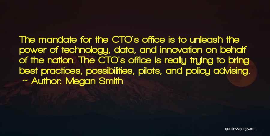 Best Data Quotes By Megan Smith