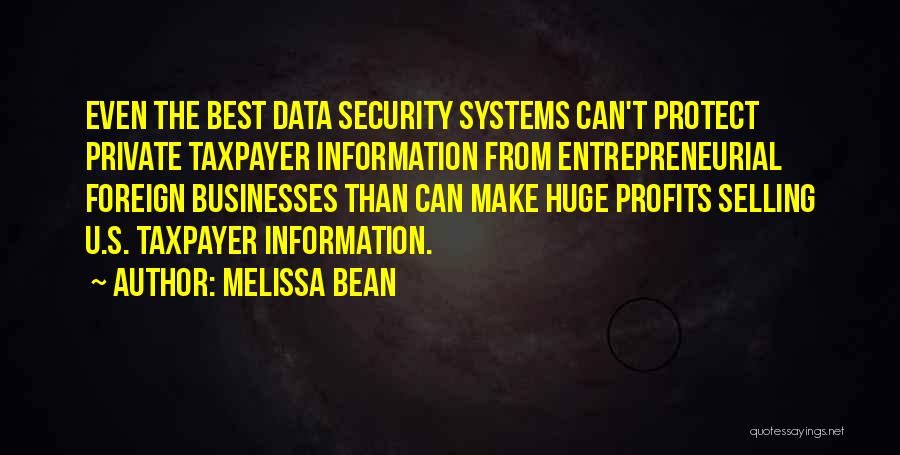 Best Data Quotes By Melissa Bean
