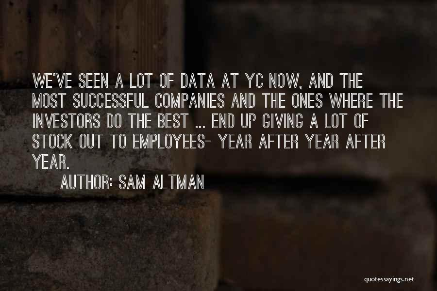 Best Data Quotes By Sam Altman