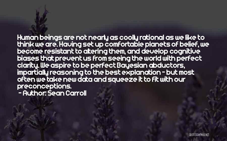 Best Data Quotes By Sean Carroll