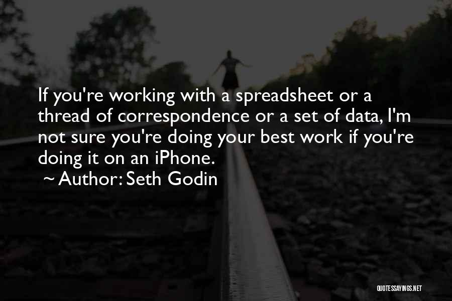 Best Data Quotes By Seth Godin