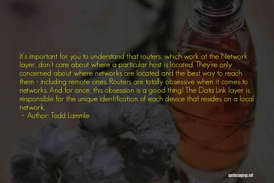 Best Data Quotes By Todd Lammle
