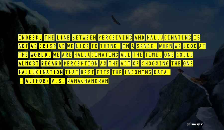 Best Data Quotes By V.S. Ramachandran