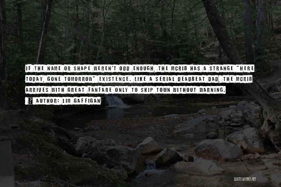 Best Deadbeat Dad Quotes By Jim Gaffigan