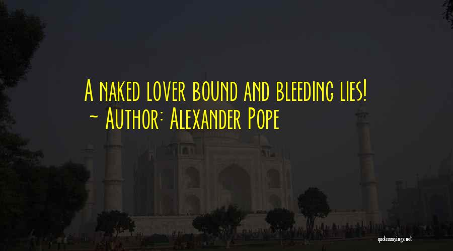Best Deceit Quotes By Alexander Pope