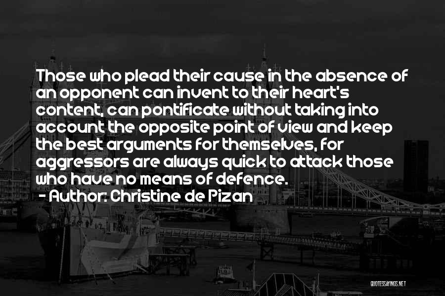 Best Deceit Quotes By Christine De Pizan