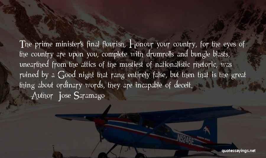 Best Deceit Quotes By Jose Saramago