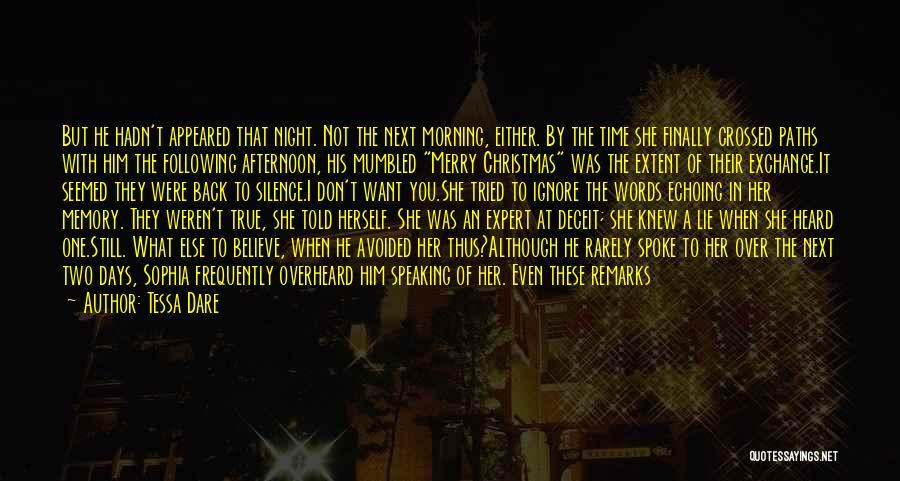 Best Deceit Quotes By Tessa Dare