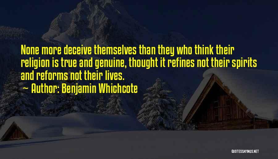 Best Deceive Quotes By Benjamin Whichcote