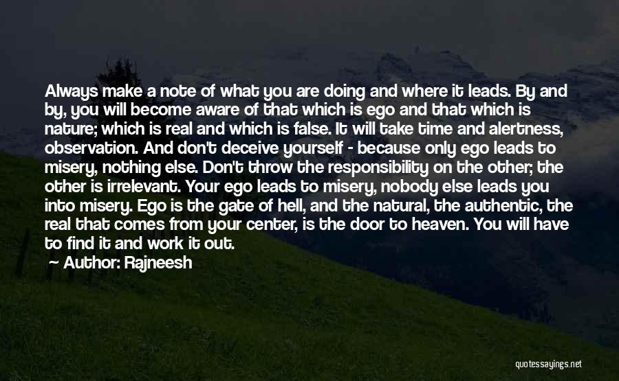 Best Deceive Quotes By Rajneesh