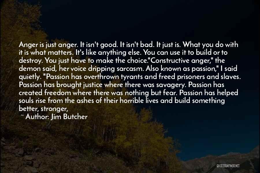 Best Demon's Souls Quotes By Jim Butcher