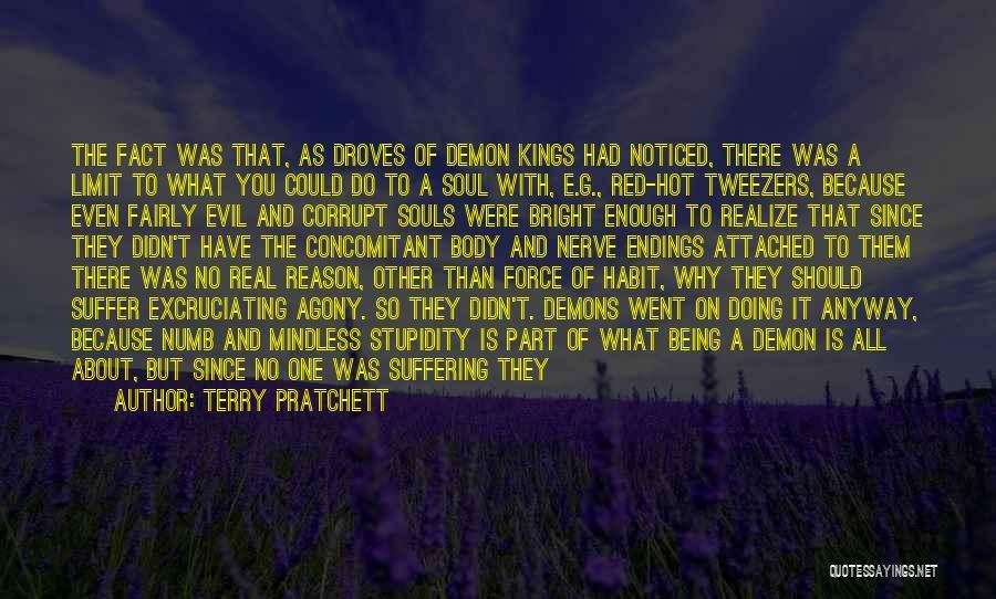 Best Demon's Souls Quotes By Terry Pratchett
