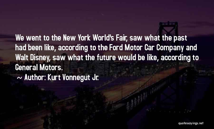 Best Disney World Quotes By Kurt Vonnegut Jr.