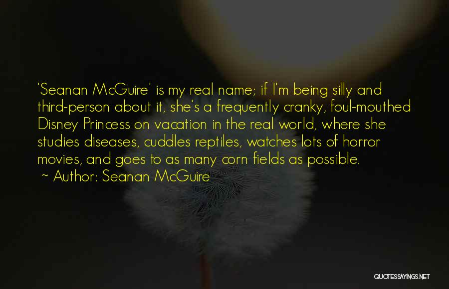 Best Disney World Quotes By Seanan McGuire
