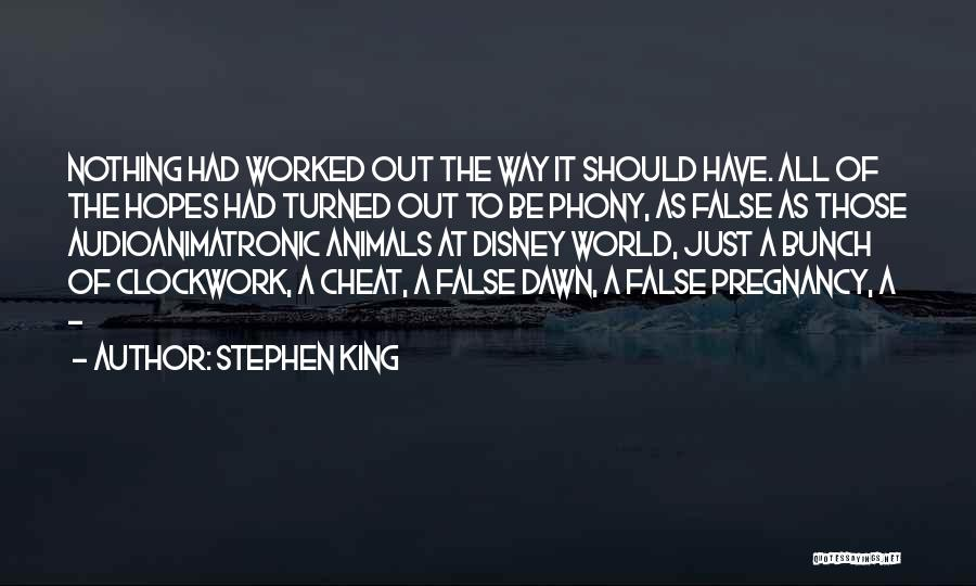 Best Disney World Quotes By Stephen King