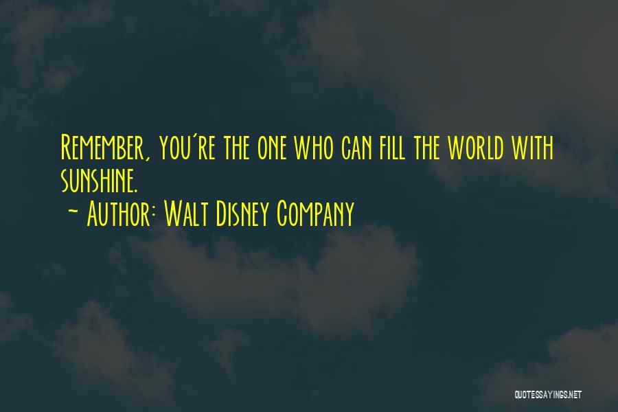 Best Disney World Quotes By Walt Disney Company