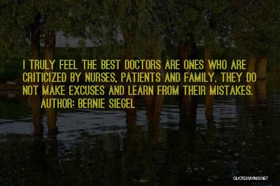 Best Doctors Quotes By Bernie Siegel