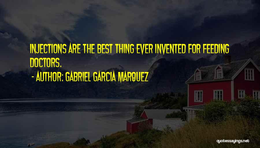 Best Doctors Quotes By Gabriel Garcia Marquez