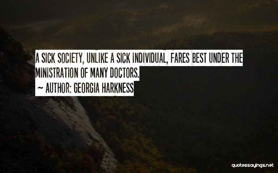 Best Doctors Quotes By Georgia Harkness